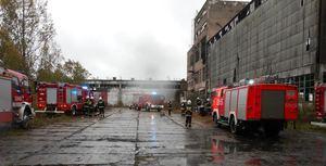 Coroczne ćwiczenia komendanta powiatowego straży pożarnej w Olecku