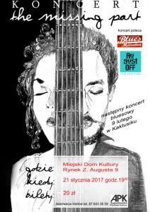 Koncert The Missing Part w Augustowie @ MDK, Rynek Z. Augusta 9  | Augustów | podlaskie | Polska