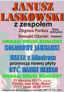 Dodatkowy koncert Janusza Laskowskiego w Olecku @ Olecko | warmińsko-mazurskie | Polska