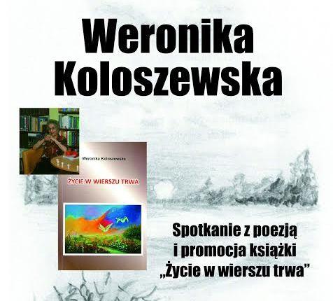 Olecka biblioteka zaprasza na spotkanie autorskie z Weroniką Koloszewską