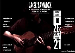 Jacek Zawadzki i koncert 12 pieśni - Prosto z Mostu @ Prosto z Mostu | Olecko | warmińsko-mazurskie | Polska