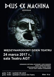 Międzynarodowy Dzień Teatru w Olecku @ Teatr AGT | Olecko | warmińsko-mazurskie | Polska