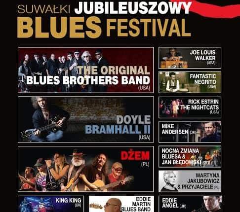10. Jubileuszowy Suwałki Blues Festival 2017