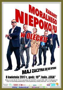 Kabaret Moralnego Niepokoju w Olecku @ Hala Lega | Olecko | warmińsko-mazurskie | Polska