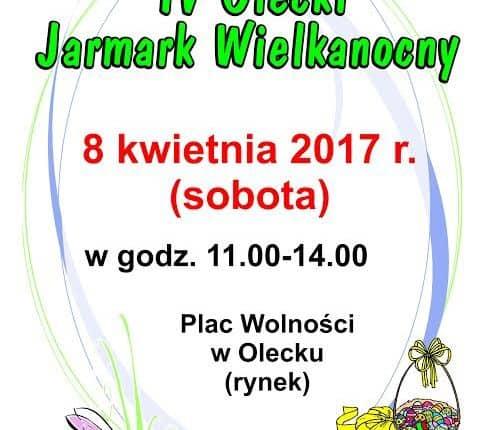 IV Olecki Jarmark Wielkanocny. Program