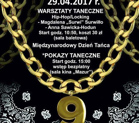 """Międzynarodowy Dzień Tańca i Akademia Tańca """"Performance Flow"""" w Olecku"""