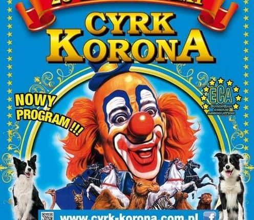 """""""Cyrk Korona"""" zaprezentuje swój jubileuszowy program w Olecku"""