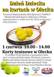 Dzień dziecka na kortach w Olecku @ Olecko | warmińsko-mazurskie | Polska