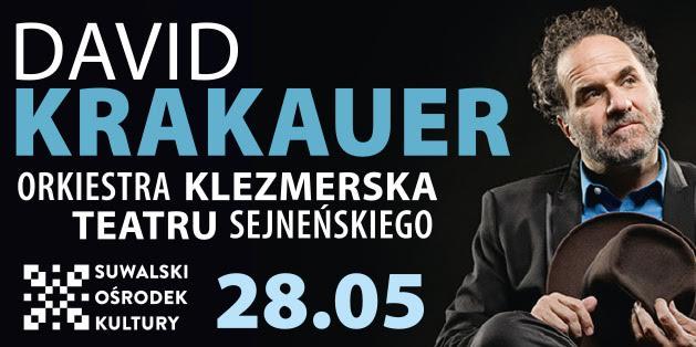 David Krakauer Live i Orkiestra Klezmerska Teatru Sejneńskiego w SOK-u