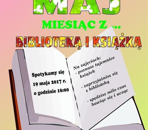 """Miejsko-Powiatowa Biblioteka Publiczna w Olecku zaprasza na spotkanie z cyklu: """"Miesiąc z…"""""""