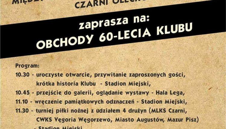 Jubileusz Międzyszkolnego Ludowego Klubu Sportowego Czarni Olecko