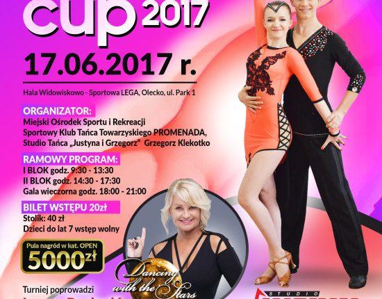 Lega Dance Cup.  Iwona Pavlović i najlepsi tancerze sportowi w hali Lega