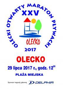 XXV Olecki Maraton Pływacki @ Plaża Miejska | Olecko | warmińsko-mazurskie | Polska