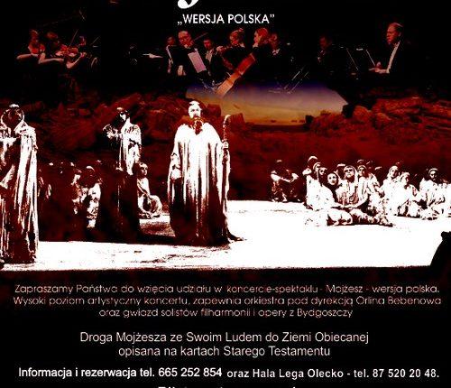 "Koncert – spektakl ""Mojżesz"". Wersja polska"