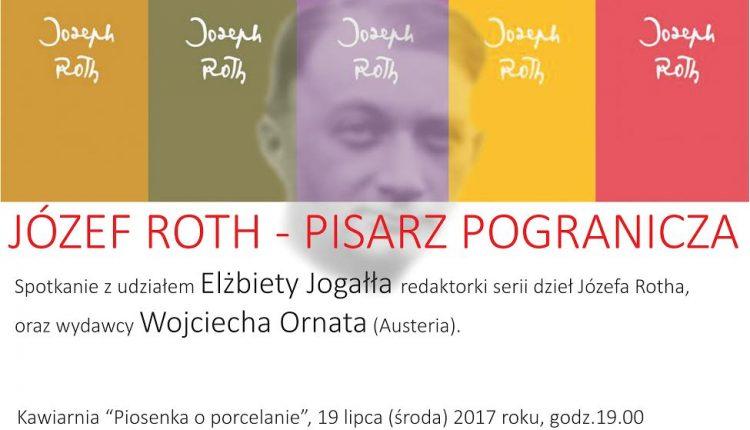 Józef Roth – pisarz pogranicza. Spotkanie w Międzynarodowy Centrum Dialogu w Krasnogrudzie