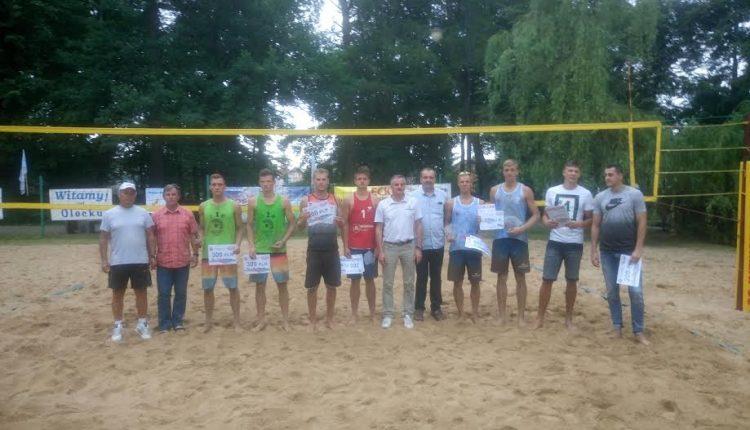 Goście z Litwy wygrywają Ogólnopolski Turnieju Siatkówki Plażowej