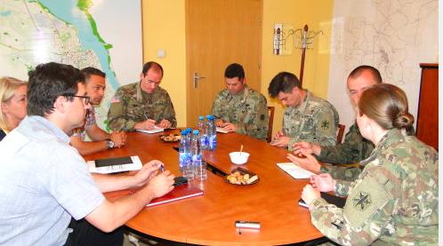 Amerykańscy żołnierz ponownie w Ratuszu. Rozmawiali o współpracy i pytali o opinie na temat ćwiczeń
