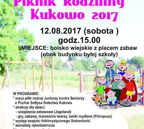 Wakacyjny Piknik Rodzinny – Kukowo 2017