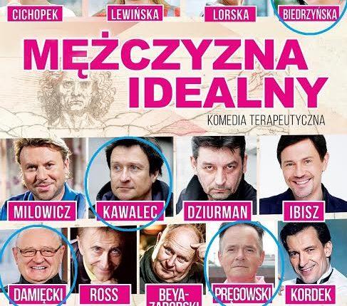 """Spektakl """"Mężczyzna idealny"""" w gołdapskim Domu Kultury"""