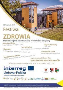 Festiwal Zdrowia w Gołdapi @ Tężnie Solankowe | Gołdap | warmińsko-mazurskie | Polska