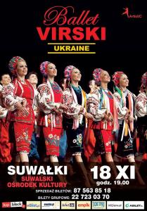 Zawiruje VIRSKI. Narodowy Balet Ukrainy w SOK @ SOK - Sala im. A. Wajdy | Suwałki | podlaskie | Polska