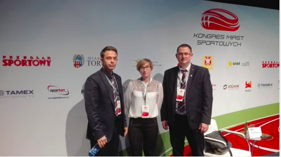 Olecka delegacja na Kongresie Miast Sportowych