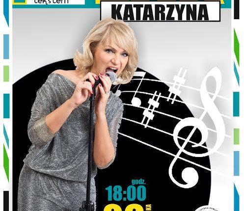 Recital Katarzyny Żak w ełckiej bibliotece