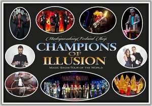 Champions of Illusion z programem: Magic Show - tour of the World w Ełku @ ECK - sala widowiskowa | Ełk | warmińsko-mazurskie | Polska