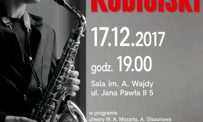Saksofonowa magia świąt. Koncert Daniela Kobielskiego