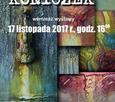 Wernisaż wystawy prac Krzysztofa Koniczka w Galerii Prawdziwej Sztuki im. A. Legusa