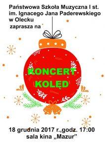 Koncert kolęd w kinie Mazur @ ROK -sala kina Mazur | Olecko | warmińsko-mazurskie | Polska