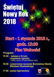 Powitanie Nowego Roku w Olecku @ Olecko | warmińsko-mazurskie | Polska