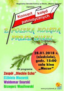 Koncert kolęd patriotycznych @ ROK - sala kina Mazur | Olecko | warmińsko-mazurskie | Polska