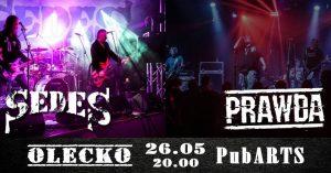 Koncert Legend - Sedes, Prawda oraz Wodewil z Olecka @ Pub Arts | Olecko | warmińsko-mazurskie | Polska