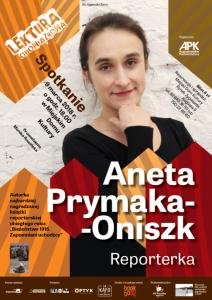 Lektura Obowiązkowa – spotkanie z Anetą Prymaką-Oniszk @ Miejski Dom Kultury | Augustów | podlaskie | Polska