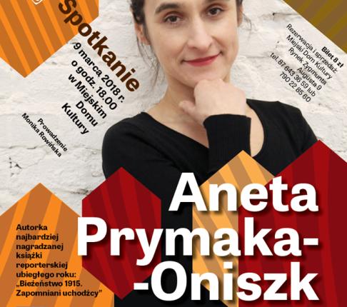 Lektura Obowiązkowa – spotkanie z Anetą Prymaką-Oniszk