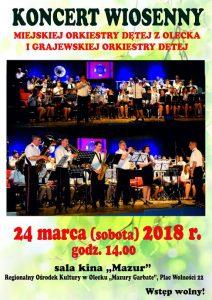 Koncert wiosenny @ Kino Mazur | Olecko | warmińsko-mazurskie | Polska