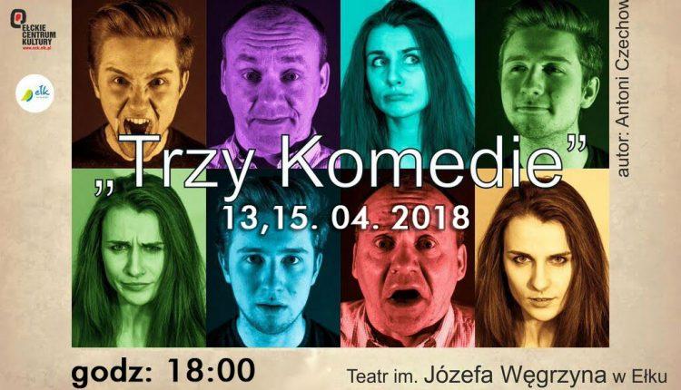 Trzy komedie Czechowa na scenie ECK