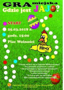 Gra miejska - Gdzie jest jajo? @ Olecko | warmińsko-mazurskie | Polska